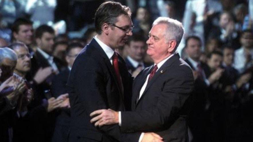 Fotografija Aleksandra Vučića i Tomislava Nikolića
